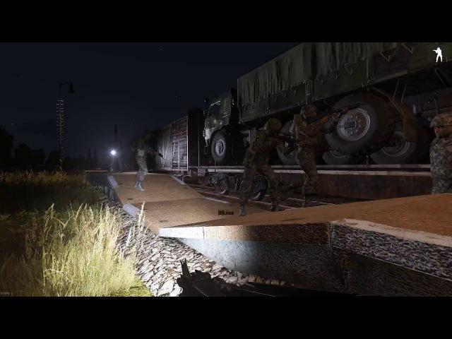 ArmA 3 - Ночной вылет на задание / Серьёзные игры на Тушино