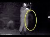 Ghost hunter, 44, claims he's filmed the spirit of a Black Death victim creep behind him