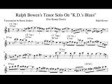Ralph Bowen's Tenor Solo on