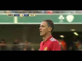 Nemanja Matic Debut vs Sampdoria 2017/08/02 Friendly