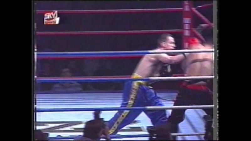 Mark Bailey v Roy Allegrini Full contact kickboxing
