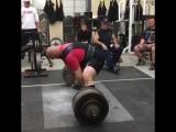 Dennis Cornelius ( США ), становая без экипировки - 358.5 кг, в.к. до 125 кг !
