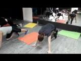 Интенсивная жиросжигающая тренировка по системе Табата.
