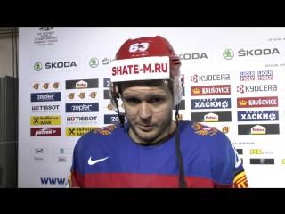 Евгений Дадонов о разгроме Словакии