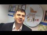 Директор челябинского филиала IZET Телеком Урал Олег Извеков поздравляет радио Комсомольская правда