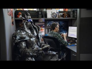 Король-лич в офисе Blizzard  1-я часть (субтитры)