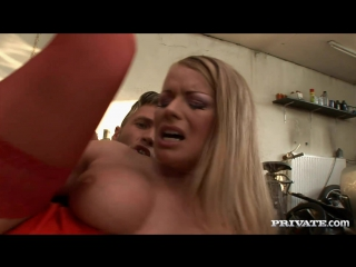 Blonde Babe Dora Venter Stockings White Big Dick DP Gonzo, Anal, Double Penetrat