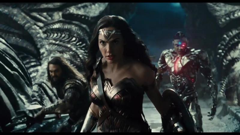 Первый трейлер фильма «Лига справедливости»!