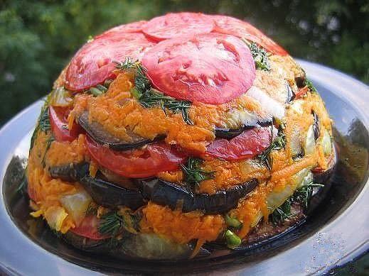 Летний овощной торт - пальчики оближете! Лучше