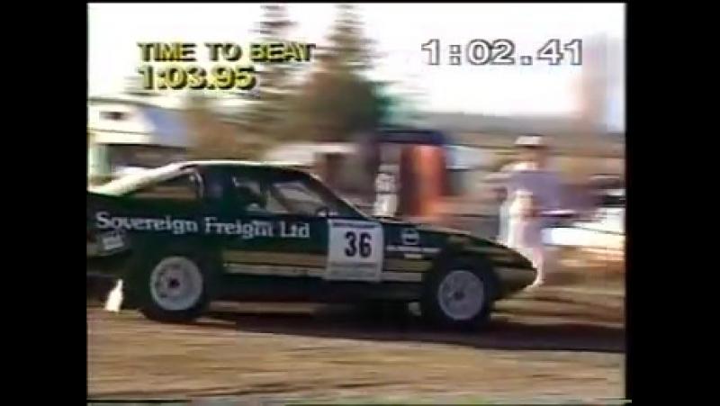 Kim Austins 2wd record run at Ashley Forest Rallysprint.