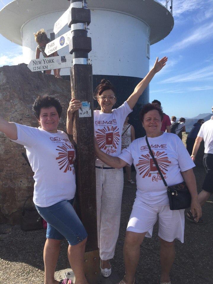А это маяк, место, где встречаются Атлантический и Индийский океаны.