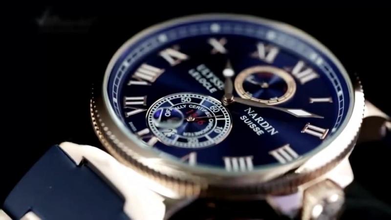 Презентация часов Ulysse Nardin Maxi Marine Chronometer (копия)