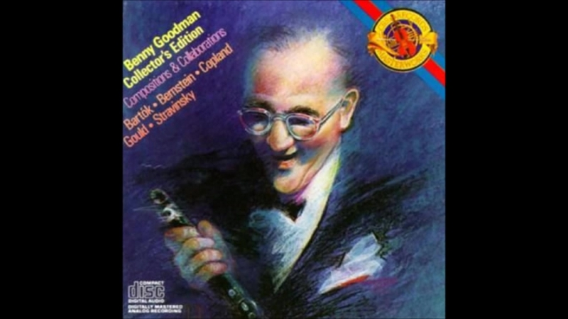 Benny Goodman - Copland Concerto for Clarinet and String Orchestra