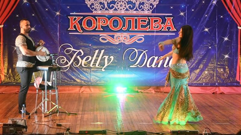 Anna Svistak with Orhan Ismail ~ tabla ~ 1 place