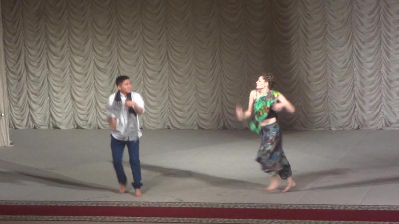Наш Зажигательный Индийский танец с моим другом Еркешом Сердечное спасибо тебе большое за прекрасный танец