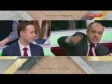 Игорь Драндин спорит с белорусским политиком Олегом Гайдукевичем о пойманных «диверсантах»