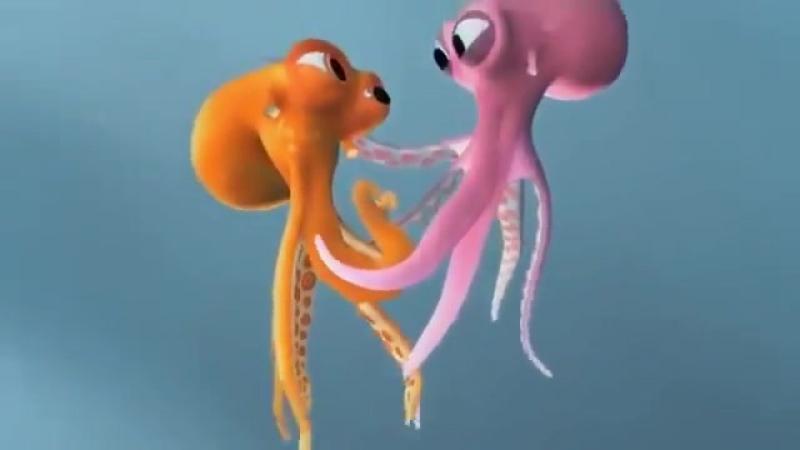 Короткометражные мультфильмы. ОСЬМИНОЖКИ от Pixar