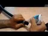 Обжимные компрессионные фитинги ПНД труб (полиэтиленовых труб). Про монтаж подр ...