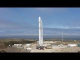 Русская трансляция пуска SpaceX Falcon 9 Iridium 2