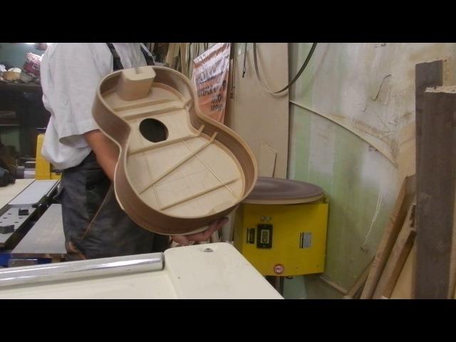 Купол нижней деки, токарный станок