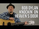 Knocking on Heaven's Door Super Easy Acoustic Songs for Guitar Guitar Lesson