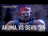 Tekken 7 - Акума и Дьявол Дзин
