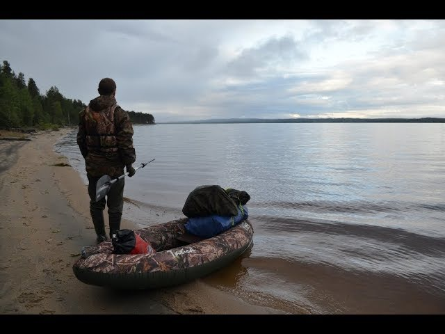 220 Карельских километров. Река Волома. Хроника одиночного сплава (Full HD)