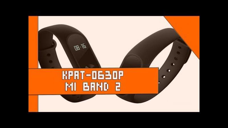 Крат-обзор: Mi band 2, стоит-ли покупать?
