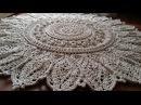 Часть 1 ВЯЗАНЫЙ КОВЕР 1-6 ряд МК мастер класс CROCHET RUG niniting karpet