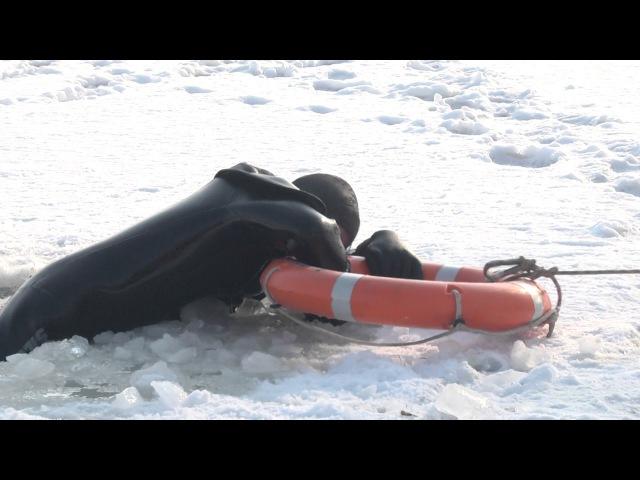 Рятувальники Вінниччини проводять практичні навчання з порятунку на льоду 2
