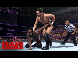 Rich Swann vs. Noam Dar: Raw, May 29, 2017