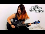 FIVE FINGER DEATH PUNCH - Under And Over It GUITAR COVER by Jassy J