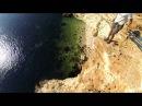 Прыжки с верёвкой в Крыму на мысе Фиолент с командой Skyline
