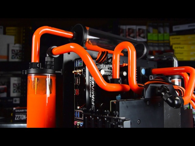 Mosquito - Custom Triple Reservoir Open Air ITX Gaming PC