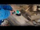 Как отшлифовать сруб Пример ПРАВИЛЬНОЙ шлифовки сруба дома из бревна ручной рубки от СК Терем Град