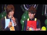 SS501 Kim Hyung Jun Bobo Park Jung Min - Happy Birthday Party