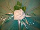 Украшение на двери свадебного автомобиля своими руками DIY Flowers Wedding