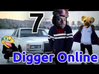 Dizzy sings the new Digger Online THEME SONG!Part 7