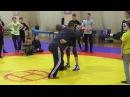 Тренер Ильин Ю.В. показывает прием по вольной борьбе. Тренировка.