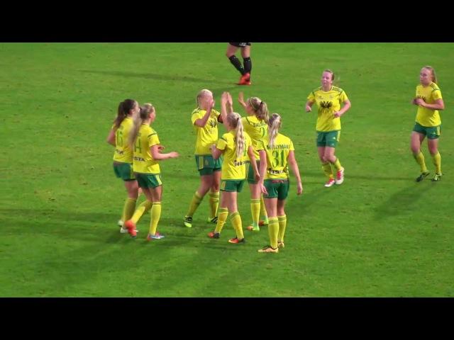 Ilves Naiset - NiceFutis 4-2 (2-2) 27.9.2016 Naistenliiga maalikooste