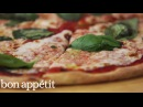 Mario Batali's Technique to Classic Homemade Pizza   Cook Like a Pro   Bon Appetit