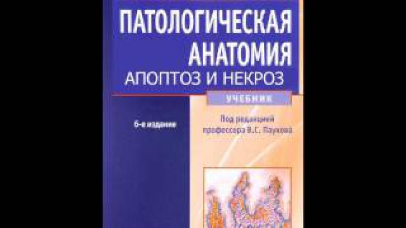 Глава 3 АПОПТОЗ НЕКРОЗ Смерть посмертные изменения Патологическая анатомия