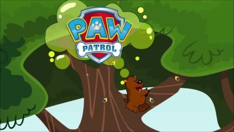 Пиздячий патруль и другие приключения Райдера новые серии щенячий патруль спасает медведя винни пуха от пчёл ряф ряф