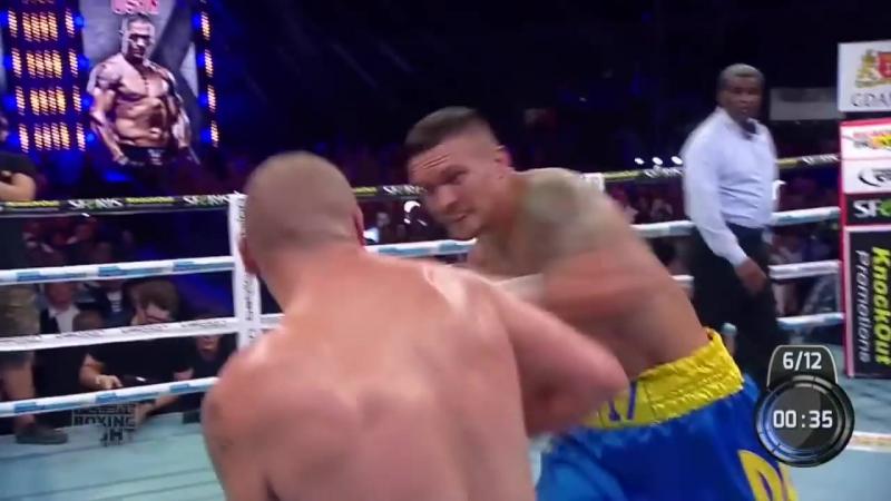 Oleksandr Usyk vs Krzystof Glowacki Highlights