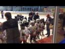 Награждение на детском хоккее