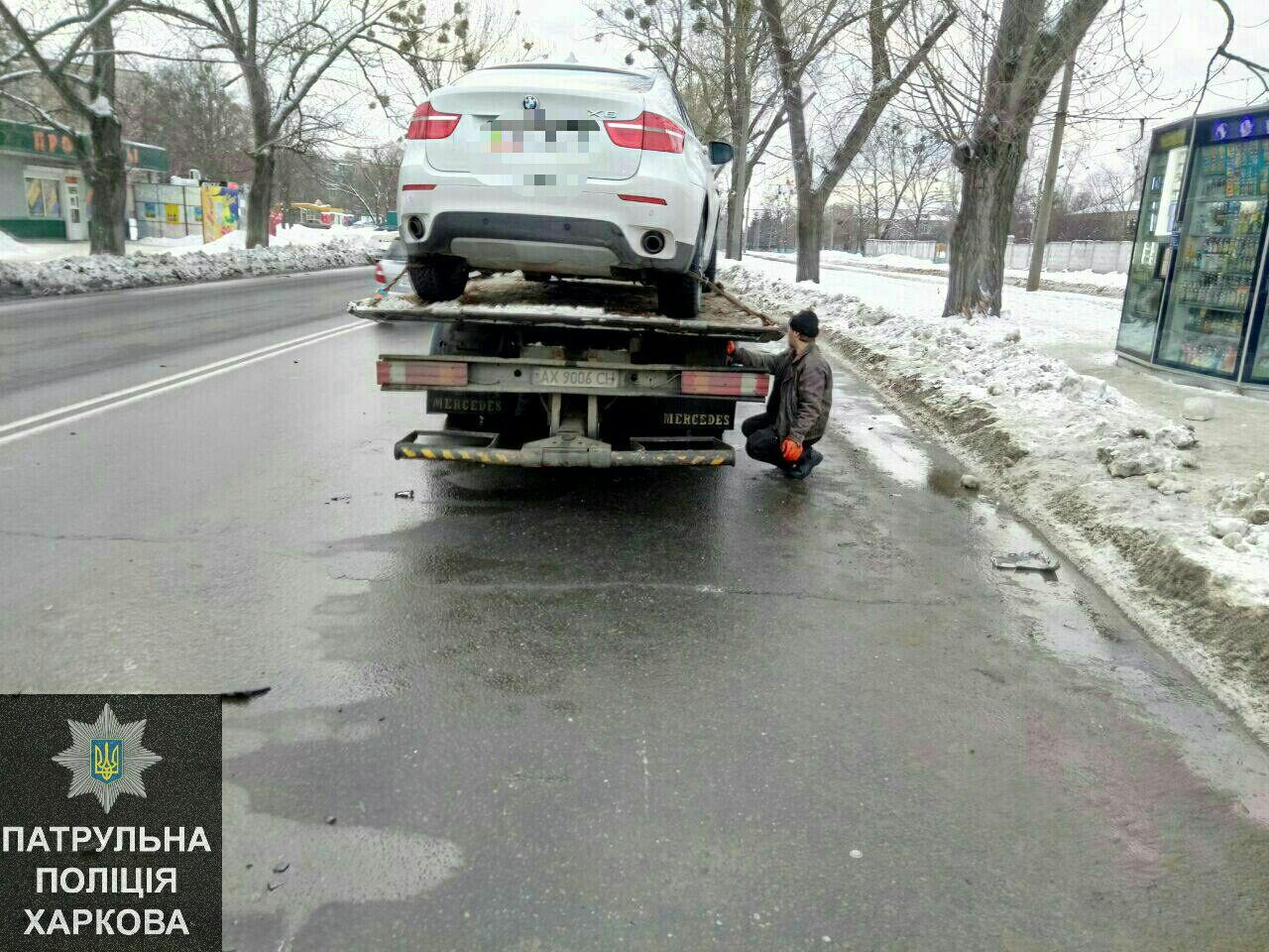 Нетрезвый шофёр врезался вофисное сооружение