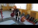 Юлия Зауголова классическая тяга 150 на 20 раз, собственный вес 67 кг