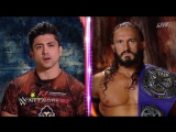 WWE 205 Live TJ Perkins and Neville Argue Before Their Match