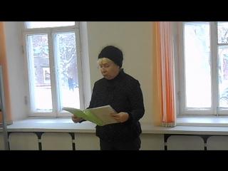 Лидия Любомирская на презентации альманаха