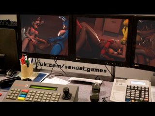 Attack of the robots 2 (five nights at freddy's, resident evil sex)